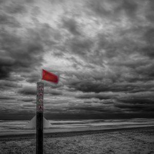 Sea Side Beach Marker 4, Padre Island, Texas