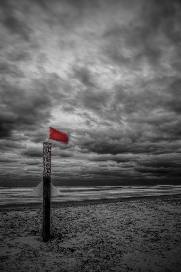 Sea Side Beach Marker 4, Padre Island, Texas