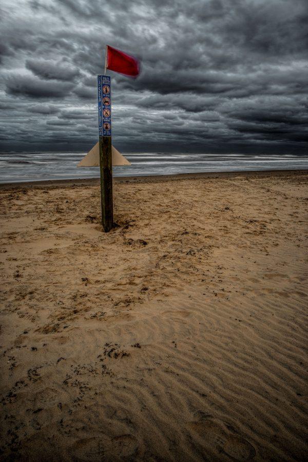 Sea Side Beach Marker, Padre Island, Texas