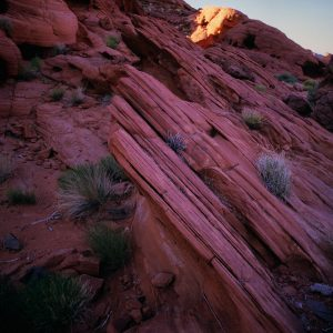 Striated Rock, Valley of Fire, Nevada