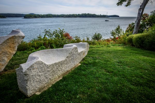 The Granite Bench, Castine, Maine #2