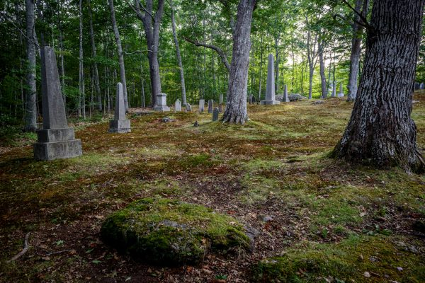The Old Cemetery Near Blue Hill, Maine #28