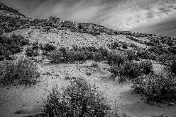 Tintic Reduction Mine, Genola, Utah (bw)
