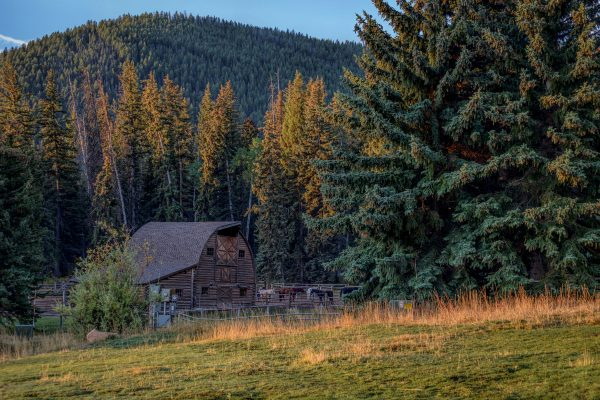 Trail Creek Ranch Barn, Wilson, Wyoming