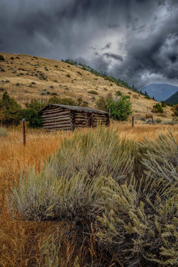 Trapper's Cabin, Pray, Montana