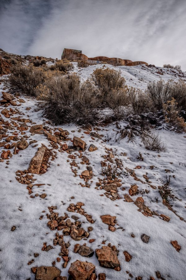 View of Tintic Reduction Mine, Genola, Utah