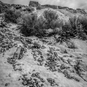 View of Tintic Reduction Mine, Genola, Utah (bw)