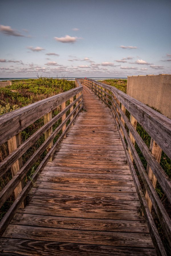 Walkway Bridge to the Beach 2, Padre Island, Texas