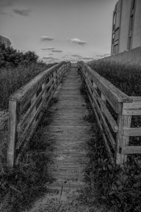 Walkway Bridge to the Beach 5, Padre Island, Texas