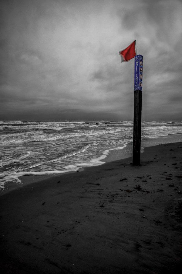 White Sands Beach Marker 2, Padre Island, Texas