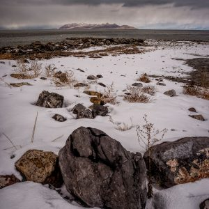 Winter Shore 2, Great Salt Lake, Utah