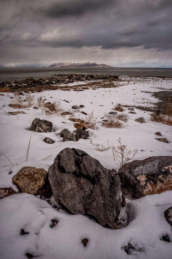 Winter Shore 2, Great Salt Lake, Utah