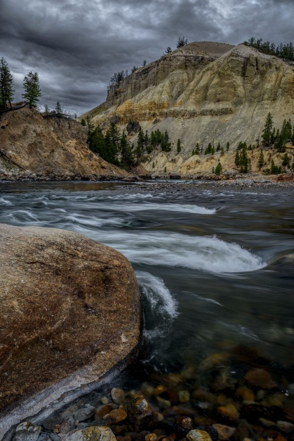 Yellowstone River Rapids, Yellowstone National Park, Wyoming