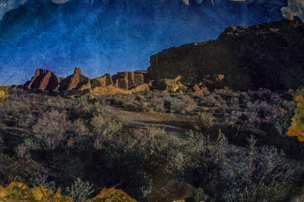 Approaching Present Day Pueblo Bonito