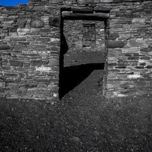 Casa Rinconada Doorways 3, Chaco Canyon, NM