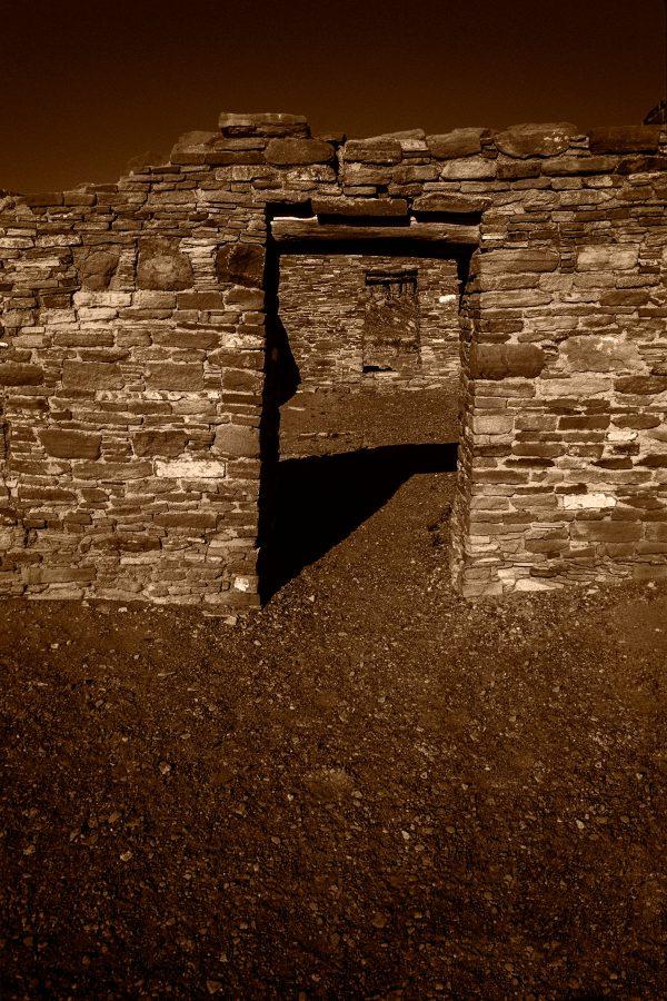 Casa Rinconada Doorways 4, Chaco Canyon, NM