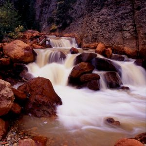 Cascading Falls, Canyon Creek, Colorado