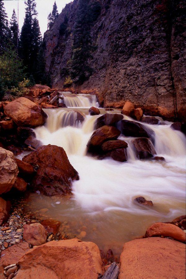 Cascading Falls, Canyon Creek, Colorado