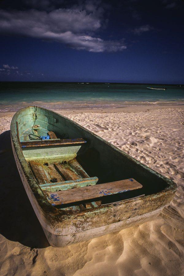 Green Paddle Boat, Playa Del Carmen, Mexico