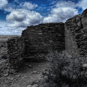 Hungo Pavi South Room, Chaco Canyon, NM