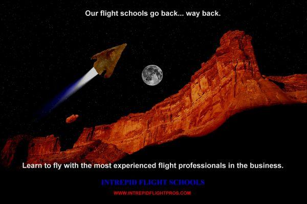 Intrepid Flight Schools Ad