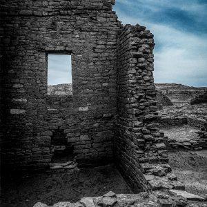 Kin Kletso Great House Window #5, Chaco Canyon, NM