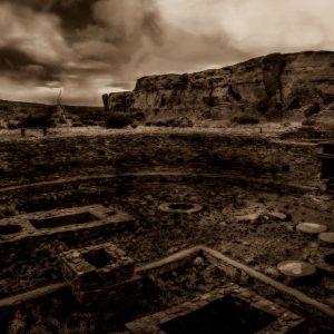 Mysterious Chetro Ketl, Chaco Canyon, New Mexico