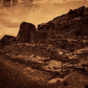 Mysterious Kin Kletso, Chaco Canyon, NM