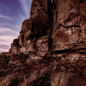 North Mesa Cliff Face at Gallo 3, Chaco Canyon, NM
