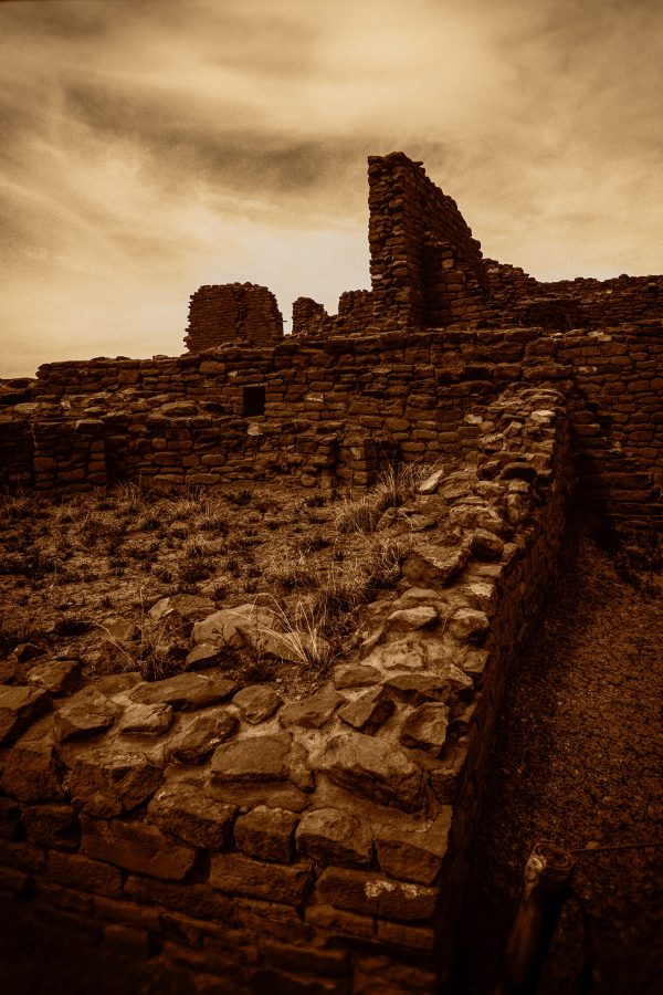 Northeastern Section of Kin Kletso 2, Chaco Canyon, NM