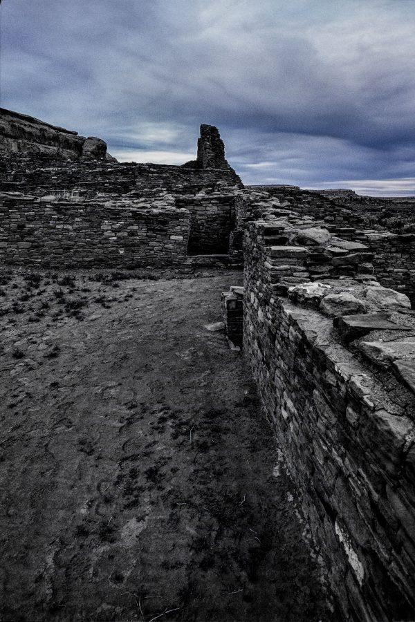 Pueblo Bonito East View, Chaco Canyon, NM