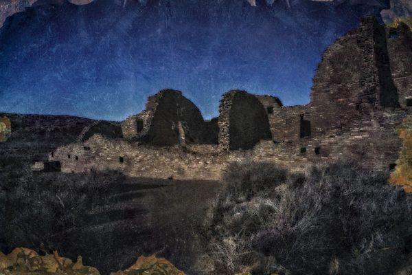 Pueblo Bonito East Wall
