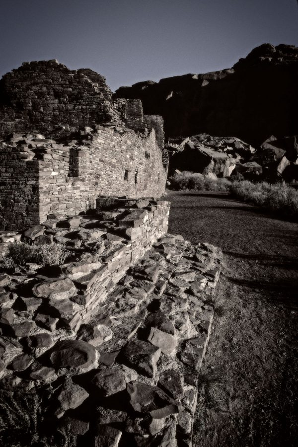 Pueblo Bonito Southeast Corner 4, Chaco Canyon, NM