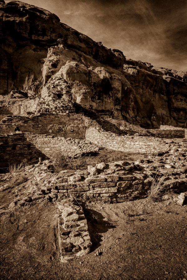 Spirit of the Mesa Wall, Chaco Canyon, NM