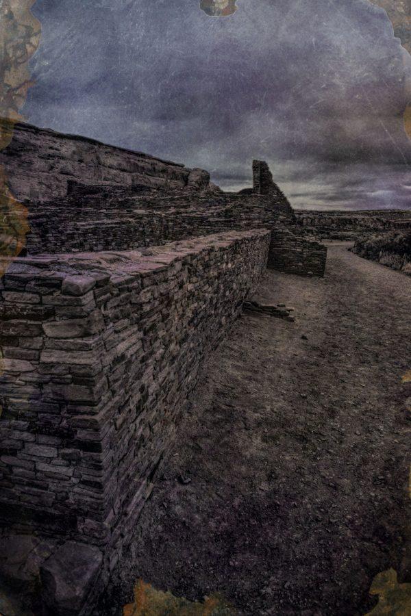 The Pueblo Bonito South Wall