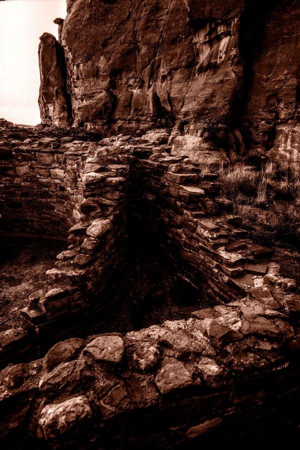 Triangular Room in Chetro Ketl 2, Chaco Canyon, New Mexico